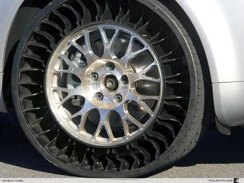 Michelin radical tyre design
