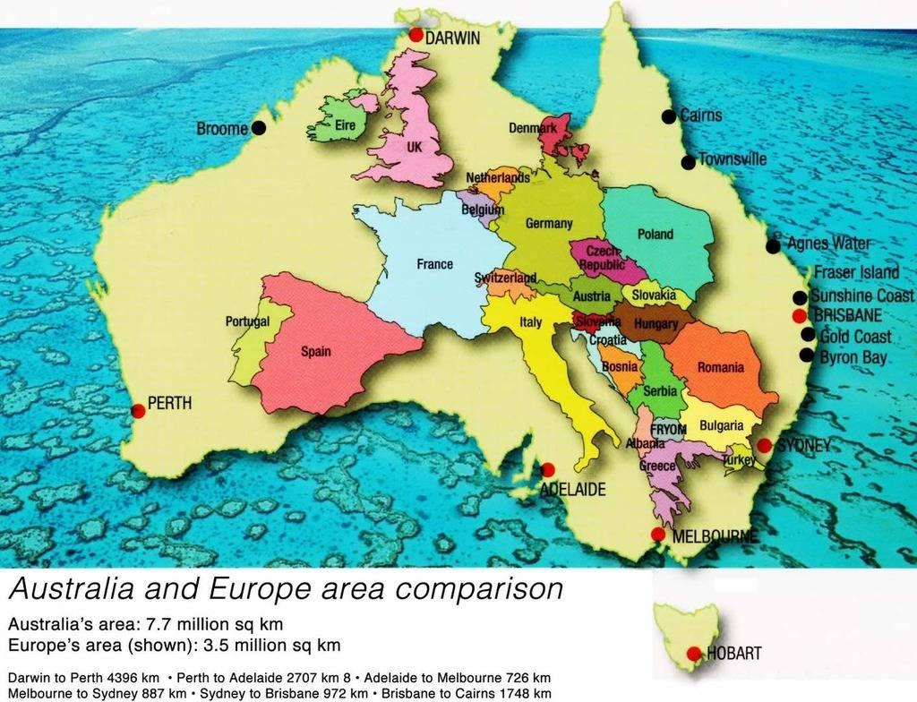 Australia & Europe