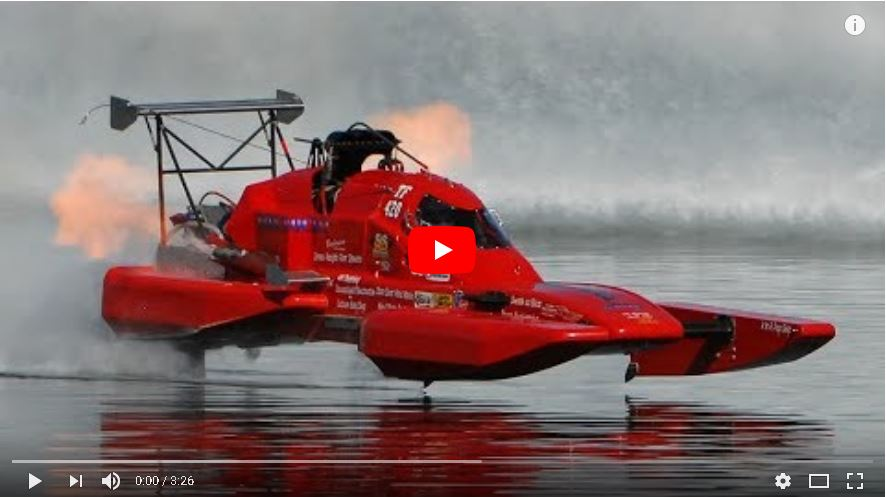 10,000 Horsepower in a small boat