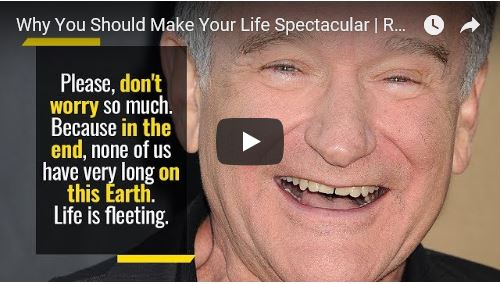 Inspiring speech Robin Williams