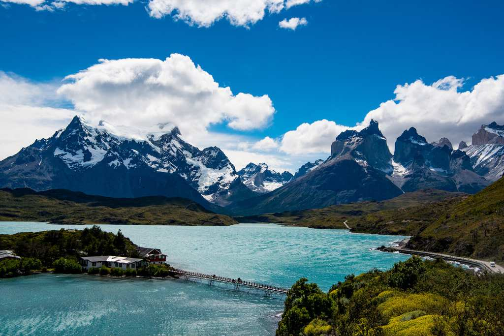 Grey Lake Torres Del Paine