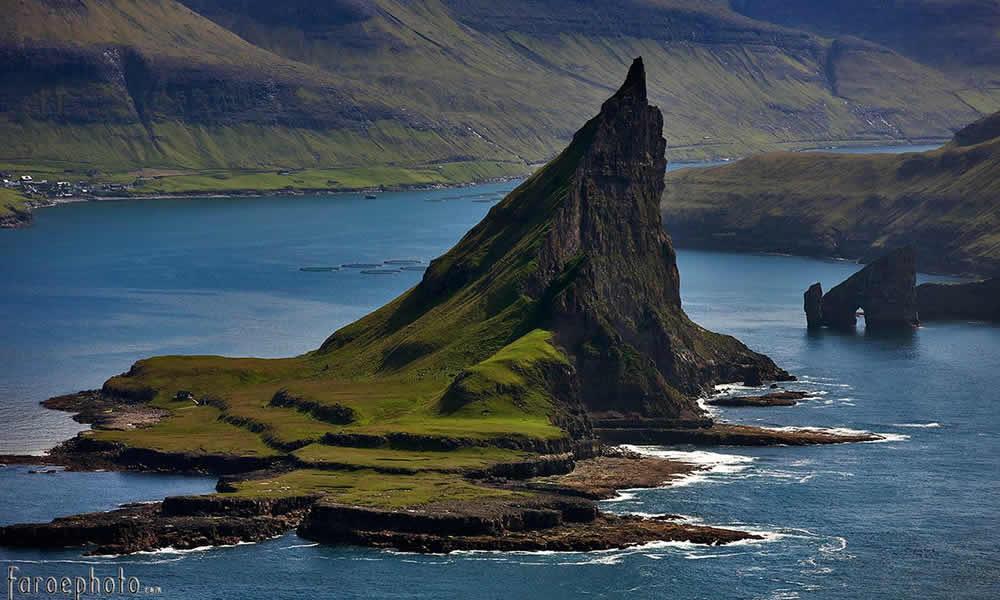 Tindhólmur Faroe Islands