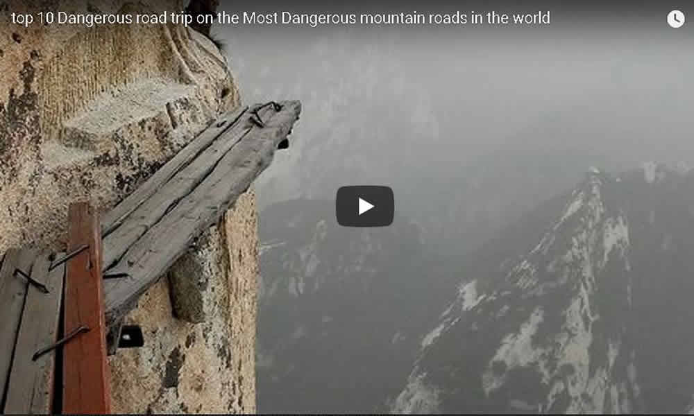 Top ten dangerous roads