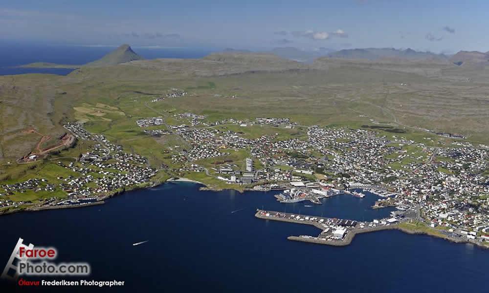 Torshavn Harbour-Faroe Islands