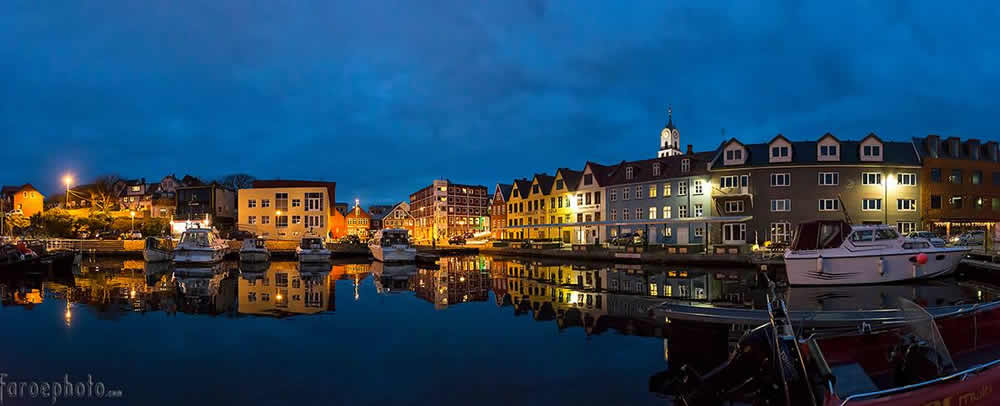 Torshavn Harbour Faroe Islands