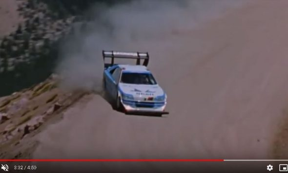 Pikes Peak 1988 Ari Vatanen